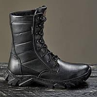 Военная зимняя обувь / берцы, тактическая обувь ДЕЛЬТА (гладкая кожа), фото 1