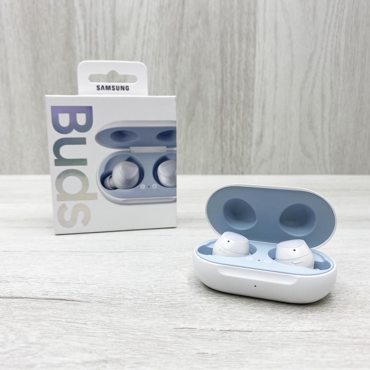 Беспроводные наушники с микрофоном Samsung Galaxy Buds (белые)