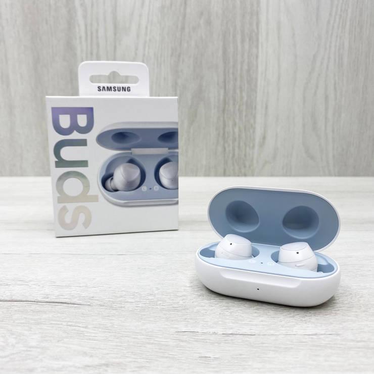 Беспроводные наушники с микрофоном Samsung Galaxy Buds (белые), фото 2