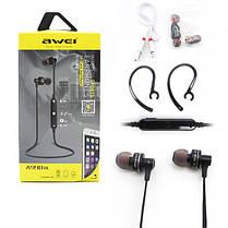 Беспроводные Bluetooth наушники гарнитура Awei A990BL Black, фото 3