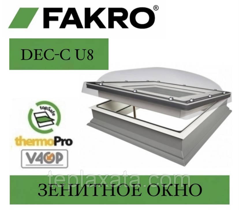 FAKRO DEC-C U8 (VSG) Зенітне вікно з куполом