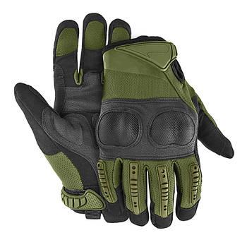 Перчатки тактические полнопалые Lesko E005 Green XL