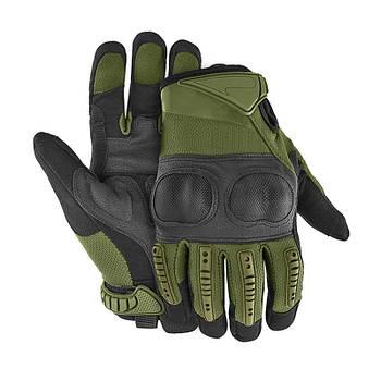 Перчатки тактические полнопалые Lesko E005 Green L
