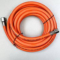 """Газовий шланг 5м RIPPER M80925R гайка 1/4""""-1/4"""" для газової гармати, фото 1"""