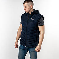 Мужская куртка рукава снимаются на змейке весна осень Рибок Reebok. Производство Турция.