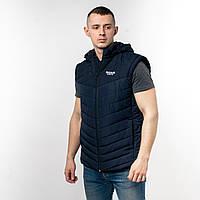 Мужская куртка трансформер: куртка+жилетка с капюшоном Reebok. Производство Турция.
