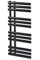 Дизайнерский полотенцесушитель радиатор Grasse 12/1130 чёрный матовый
