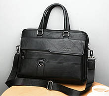 Стильный мужской деловой портфель для документов формат А4 мужская сумка для планшета ноутбука