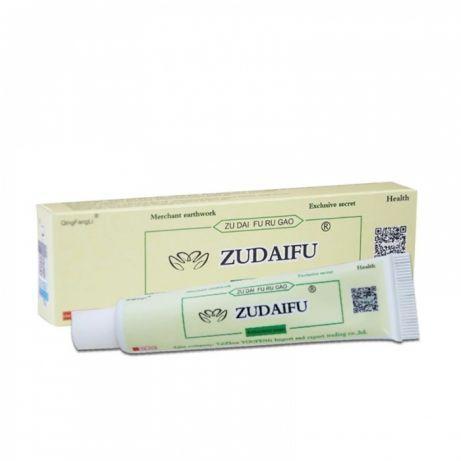 Китайський натуральний антибактеріальний крем для шкіри ZUDAIFU Зудайфу, 15 гр. Оригінал.