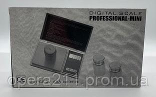 Ваги ювелірні ACS CS-200г / 0.01 (DIGITAL SCALE PROFESSIONAL-MINI) (100шт)