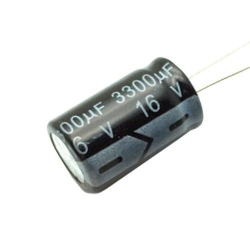 10x Конденсатор електролітичний алюмінієвий 3300мкФ 16В 105С