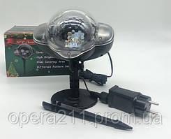Лазерный проектор Новогодний SNOW LIGHT 808 / ART-0315 (24шт)