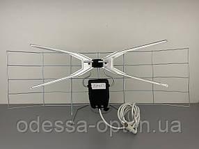Антена кімнатна полька міні з підсилювачем 5В