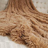 Плед-покривало Viluta хутровий Травичка, фото 2