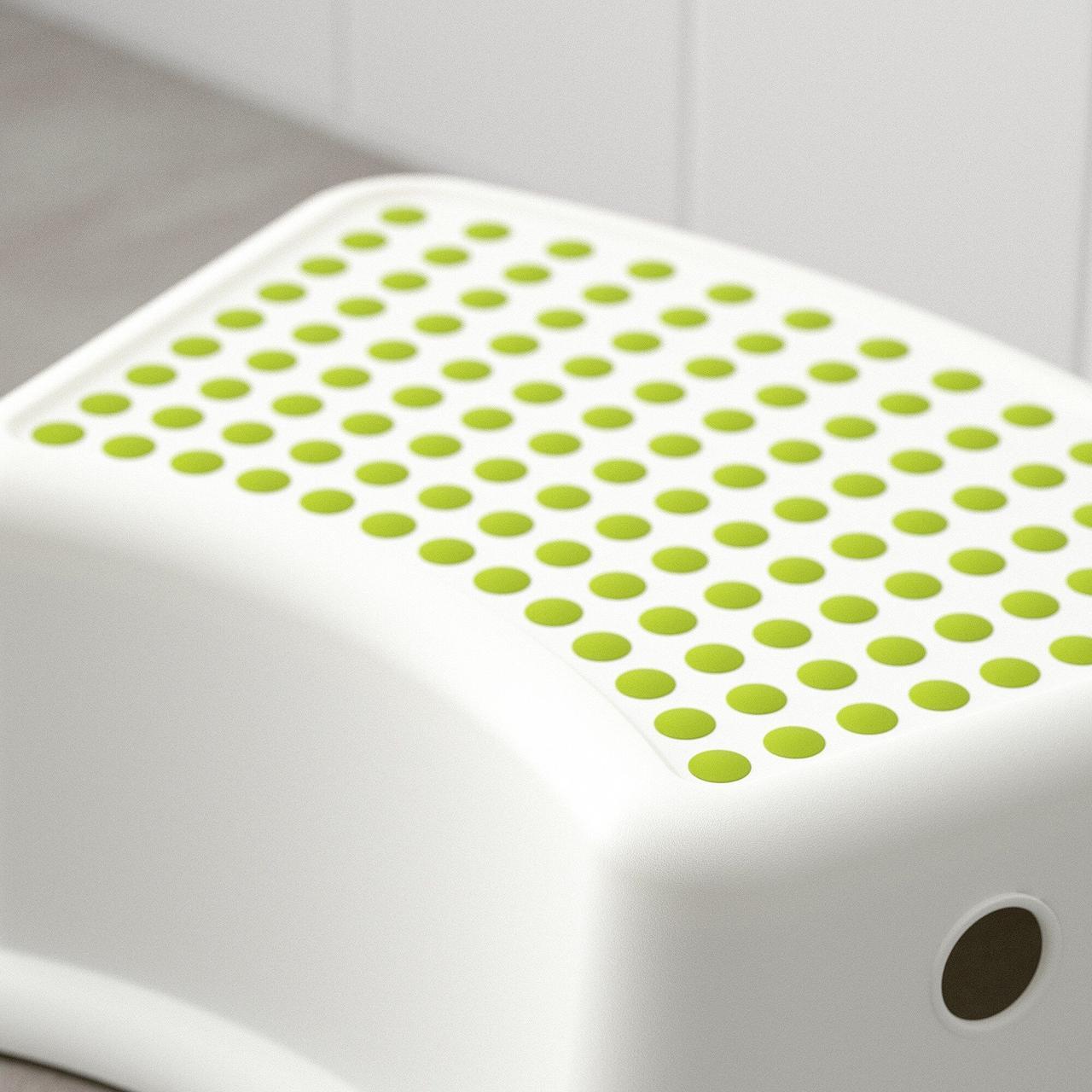 Предоплата! Табурет дитячий підставка IKEA FORSIKTIG білий 602.484.18