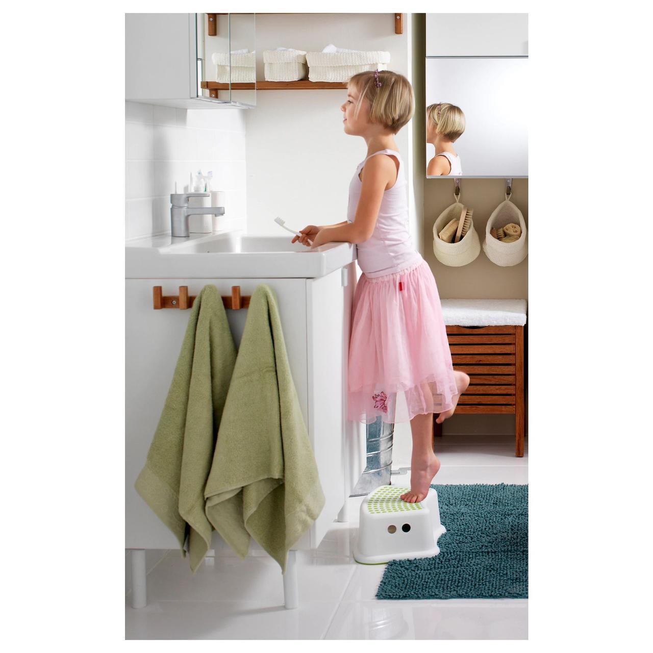 Передплата! Табурет дитячий IKEA FORSIKTIG білий 602.484.18