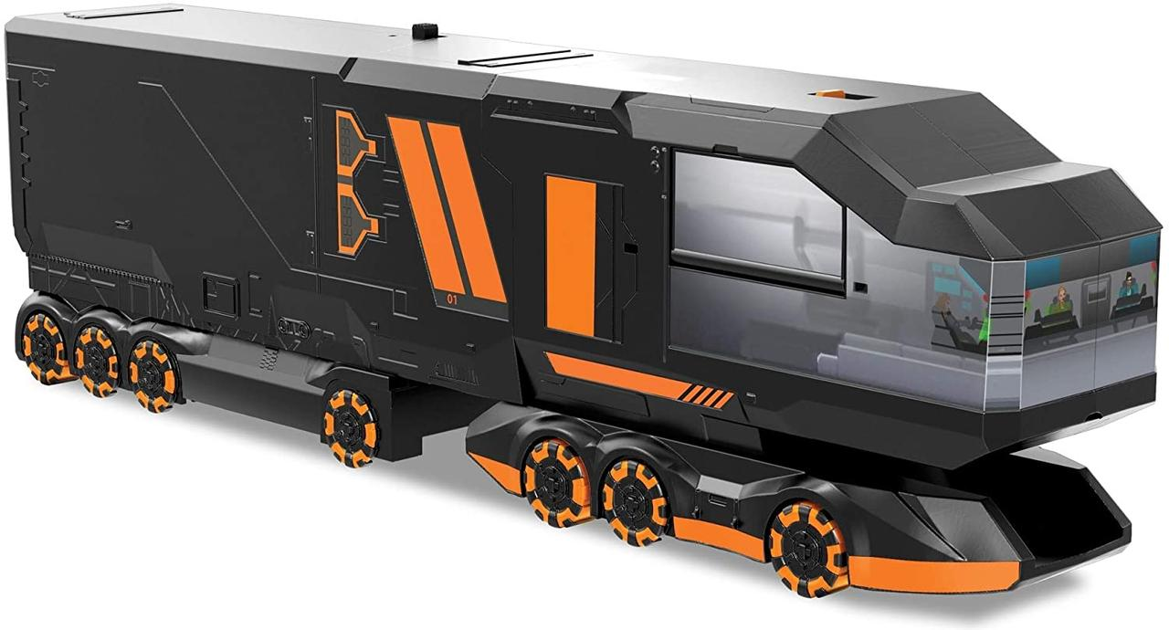 Хот Вилс Мега грузовик Транспортер Шпионский Центр  Hot Wheels Mega Hauler