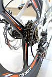 Спортивний велосипед Corso Aero на 20 дюймів дисковий колесо Сірий, фото 6