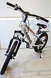 Спортивний велосипед Corso Aero на 20 дюймів дисковий колесо Сірий, фото 2