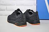 Кроссовки мужские черные сетка в стиле Adidas, фото 4