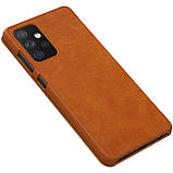 Защитный чехол-книжка Nillkin для Samsung Galaxy A72 5G (Qin leather case) Brown Коричневый, фото 6