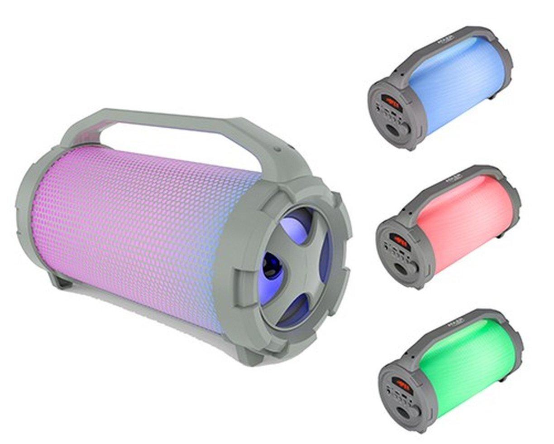 Портативная Bluetooth-колонка Adler AD 1169 светящаяся разными цветами