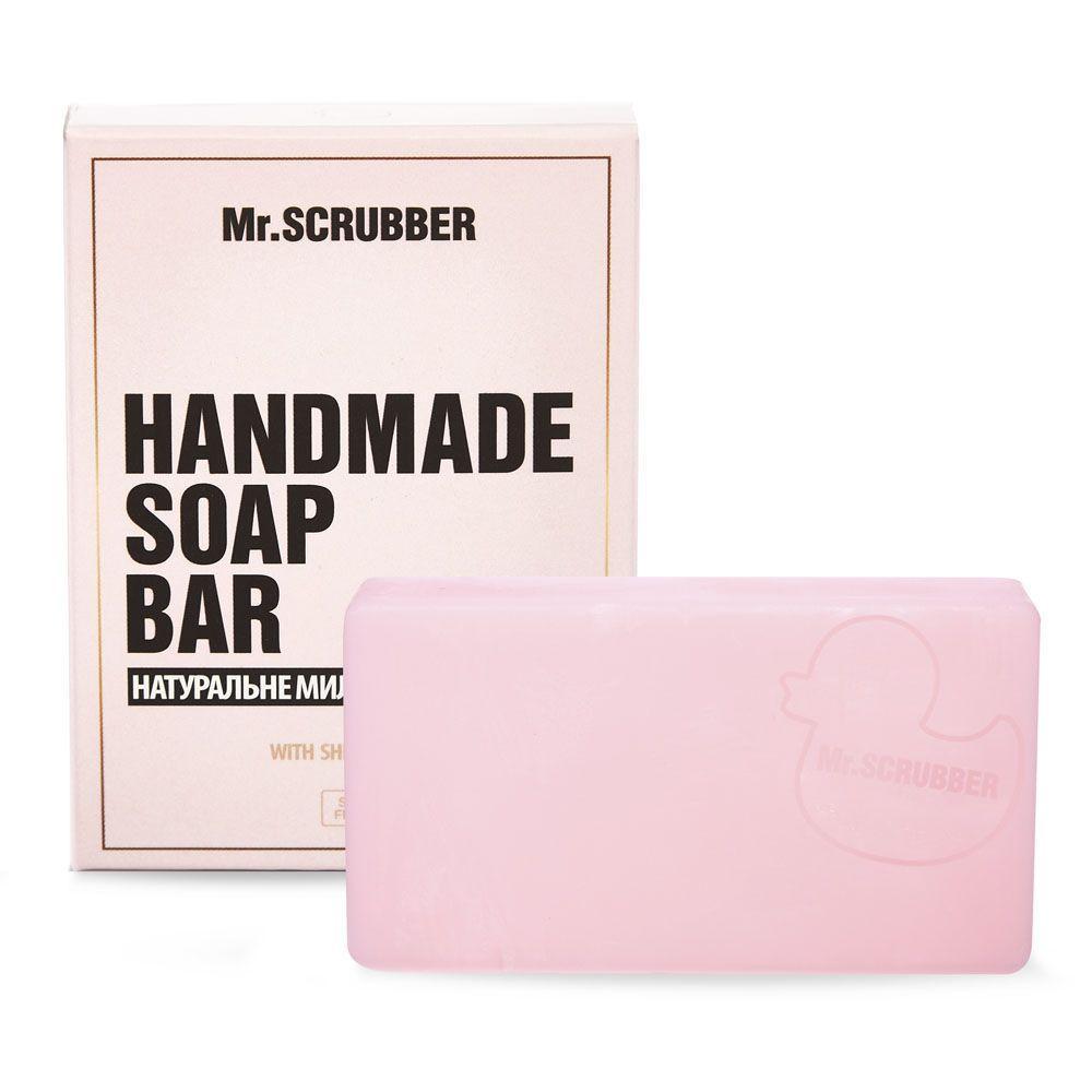 Брусковое мыло ручной работы в подарочной коробке Tiffany's Breakfast Mr.SCRUBBER
