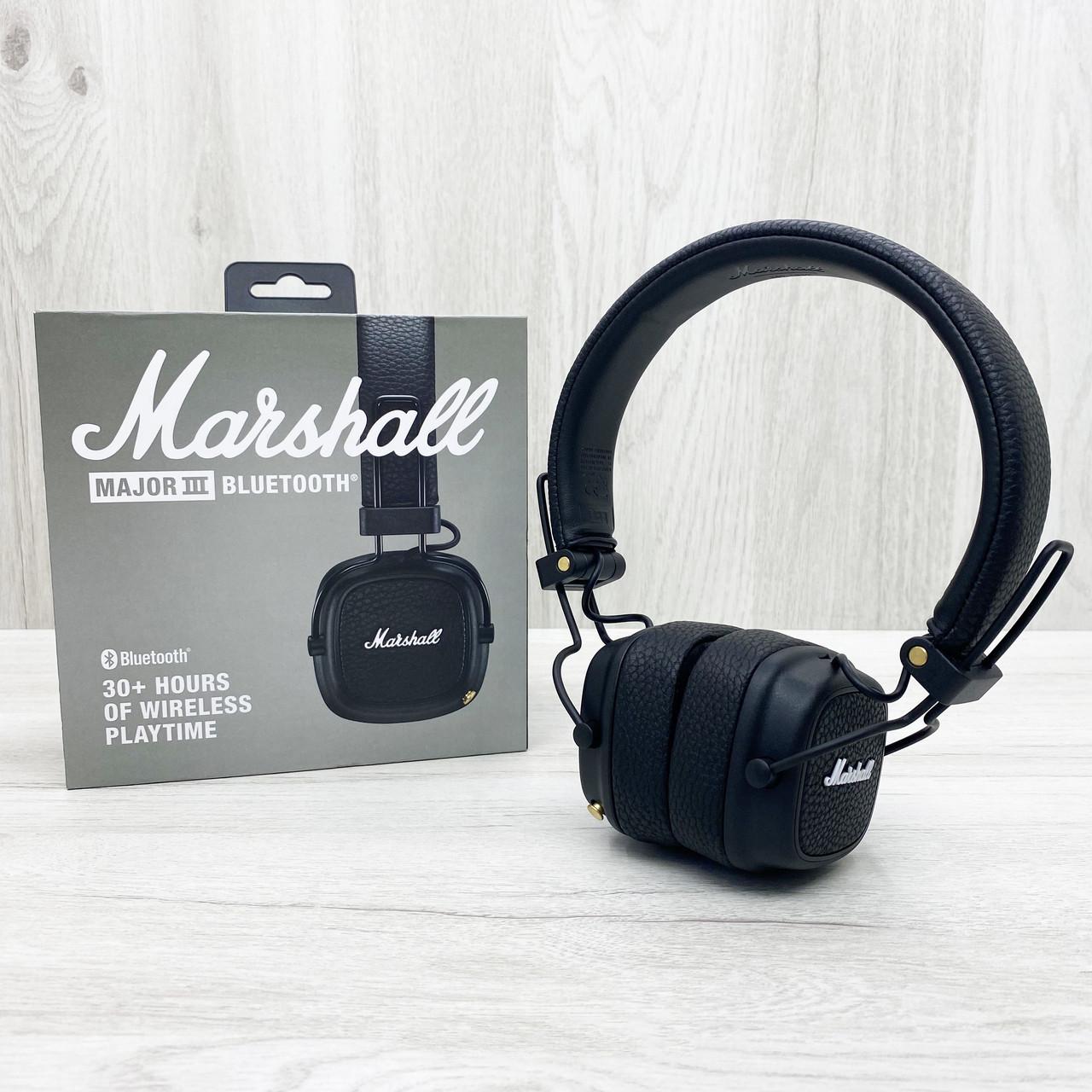 Бездротові навушники Marshall Major III BLUETOOTH (чорні)