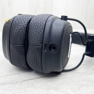 Бездротові навушники Marshall Major III BLUETOOTH (чорні), фото 3