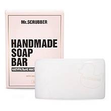 Брусковое мыло ручной работы в подарочной коробке Кокос Mr.SCRUBBER