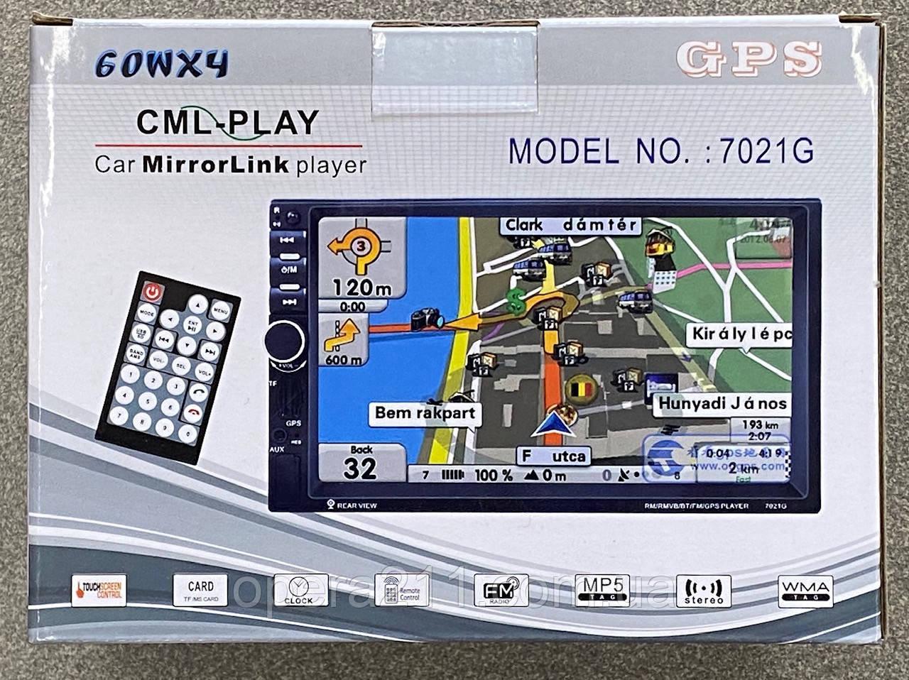Автомобіль 2DIN/MP5 + GPS NAVIGATION (20шт)