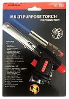 Газова пальник FLAME GUN NO-922 C п'єзопідпалом / ART-922 (100шт)
