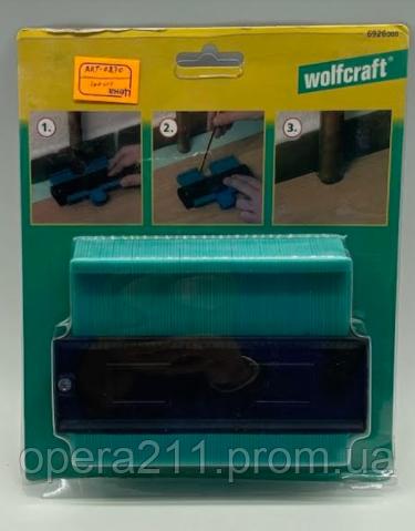 Инструмент измерительный Wolfcraft Irregular Ruler / ART-0270 (100шт)