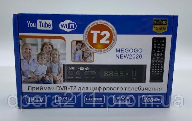 Тюнер Т2 MEGOGO-2020 T2-169 / 115 DVB-T2 5V (Пластик) (40шт)