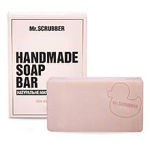 Брусковое мыло ручной работы в подарочной коробке Шоколад Mr.SCRUBBER