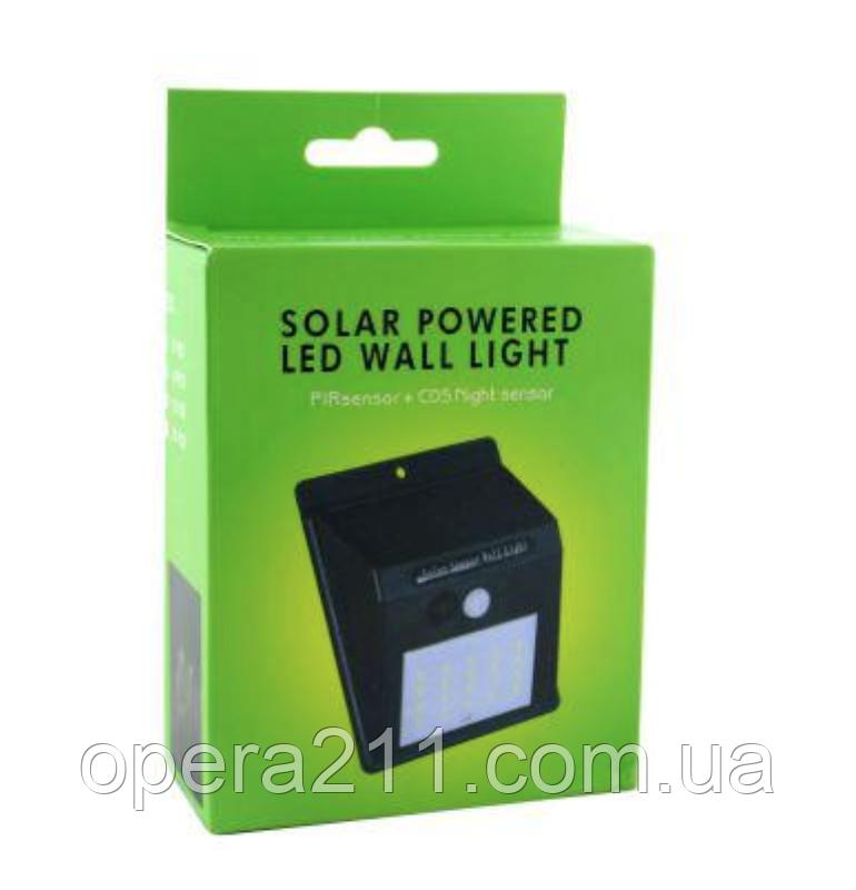 ЛІХТАРИК датчиком руху SOLAR BL-609 30SMD (30--LED) / ART-0231 (100шт)