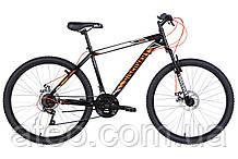 "Велосипед ST 26"" Discovery RIDER AM DD рама-18"" чорно-помаранчевий 2021"