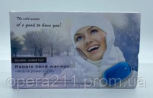 PowerBank PEBBLE Heater грелки для рук 50000Mah (4800MAH) / JS-25 (100шт)