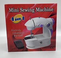 SEW Міні швейна машинка SEWING MACHINE FHSM-201 (4в1) з підсвічуванням / ART-0141 (20шт)