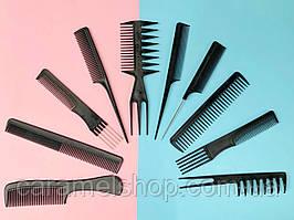 Набір гребінців гребенів для волосся 10 штук