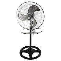 Вентилятор Підлоговий R18* OD1803 3 в 1 46см 40Вт 3 пласт. метал. ((тільки ящики)) (2шт)