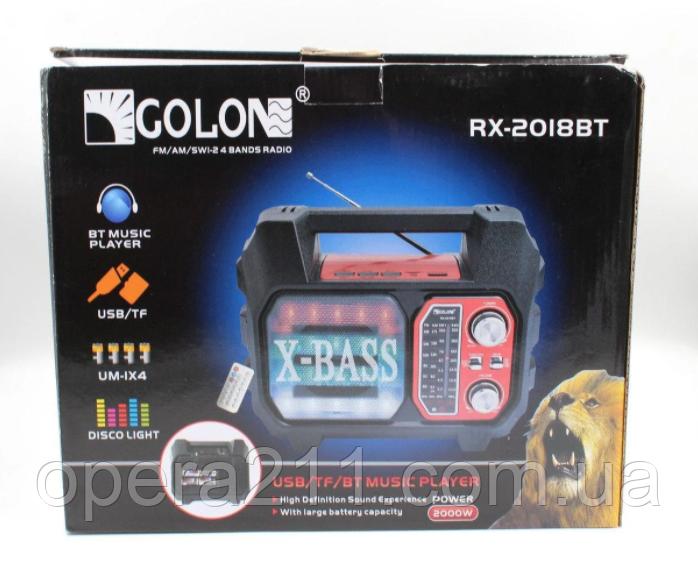 Колонка GOLON RX-2019 BT (12шт)