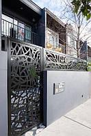 Металеві ворота і хвіртки