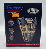 Тример GEMEI Багатофункціональний набір для стрижки GM-595 (3в1) (60шт)