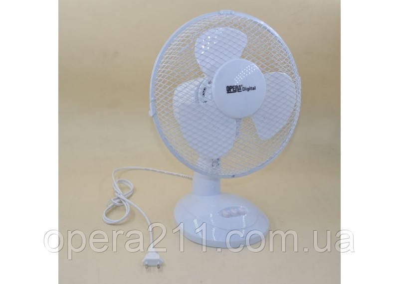Вентилятор Настольный R12* OD0312 30см 40Вт 3 пласт. ((только ящики)) (4шт)