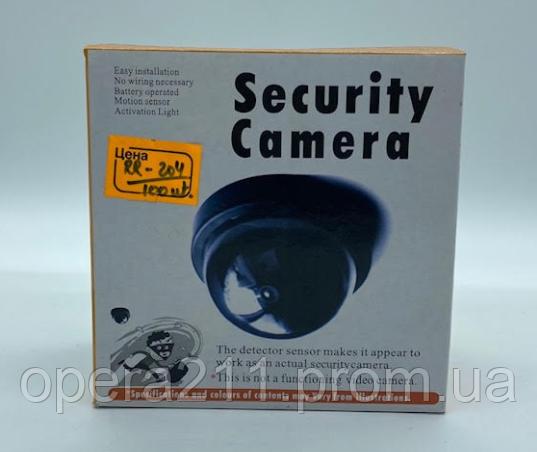 Муляж купольної камери DUMMY SECURITY CAMERA / RR204 (100шт)