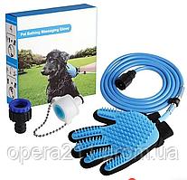 Рукавиця для миття тварин Pet washer ((AQUAPAW)) / R-014 (40шт)
