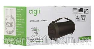 Портативные колонки CIGII S-33D 8W A2DP (18шт)