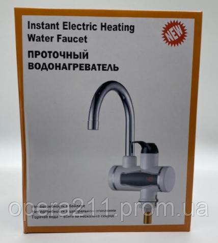 Проточный водонагреватель Water Heating Faucet-02 LED / RX006 (XY-D1) (12шт)