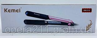 Плойка утюжок для волос KEMEI KM2113 (60шт)